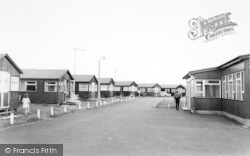 Withernsea, The Golden Sands Chalet Park c.1965