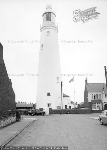 Photo of Withernsea, The Lighthouse c.1960