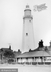 Withernsea, The Lighthouse c.1965