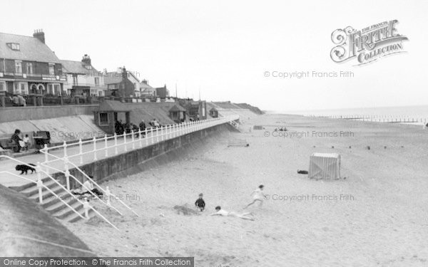 Photo of Withernsea, The North Promenade c.1965