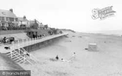 Withernsea, The North Promenade c.1965
