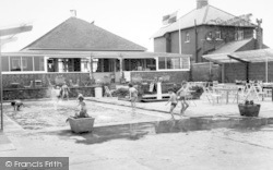 Withernsea, The Paddling Pool c.1965