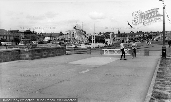 Photo of Withernsea, The Playground c.1960