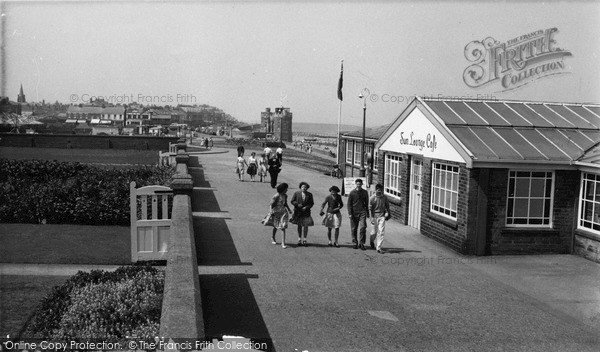 Photo of Withernsea, the Promenade c1960, ref. W177048