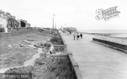Withernsea, The Promenade c.1960