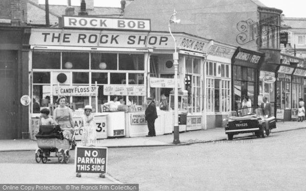 Photo of Withernsea, The Rock Shop, Seaside Road c.1960