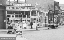 Withernsea, The Rock Shop, Seaside Road c.1960