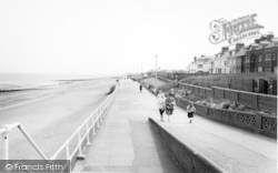 Withernsea, The South Promenade c.1965