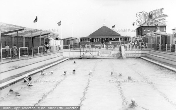 Photo of Withernsea, The Swimming Pool c.1965