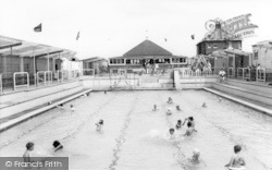 Withernsea, The Swimming Pool c.1965