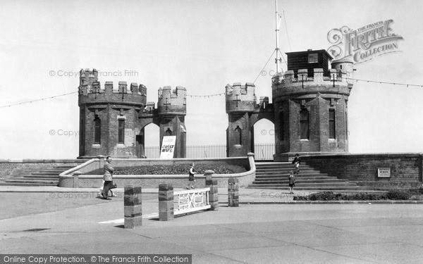 Photo of Withernsea, The Towers c.1955