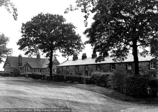 Photo of Withnell Fold, School And Houses, The Fold c.1955