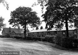 Withnell Fold, School And Houses, The Fold c.1955, Withnell