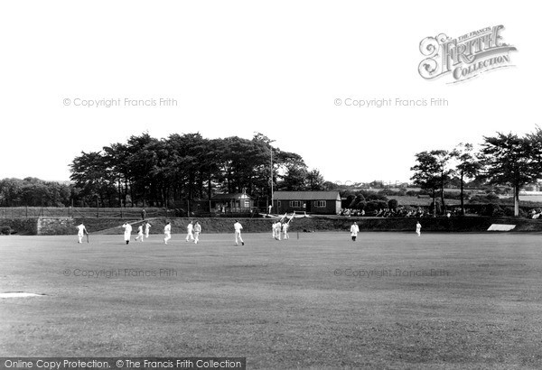 Photo of Withnell Fold, The Cricket Field c.1955