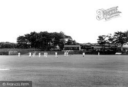 Withnell Fold, The Cricket Field c.1955, Withnell