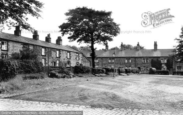 Photo of Withnell Fold, The Square c.1950