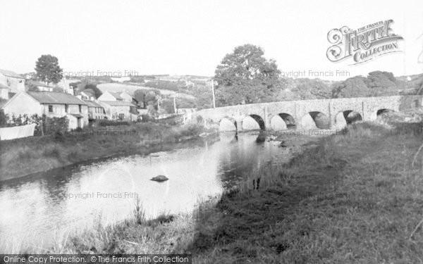 Photo of Withypool, Bridge c.1955