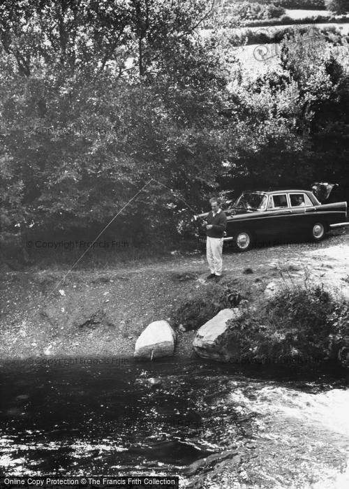 Photo of Withypool, Fishing c.1965