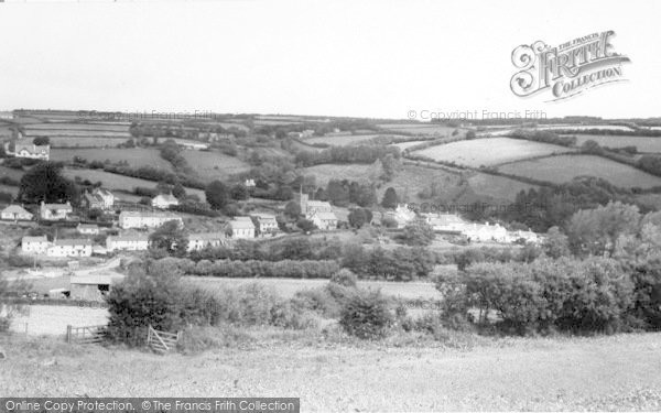 Photo of Withypool, General View c.1965