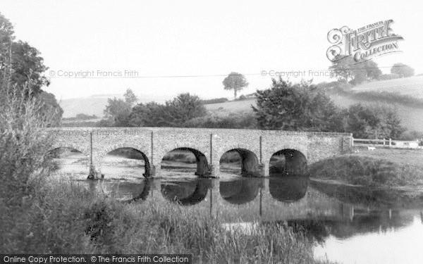 Photo of Withypool, The Bridge c.1965