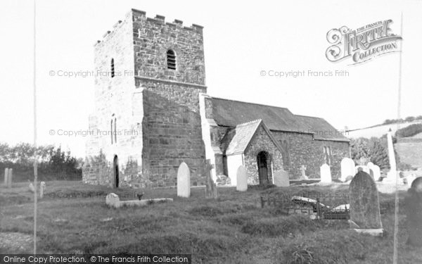 Photo of Withypool, The Church c.1955