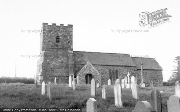 Photo of Withypool, The Church c.1965