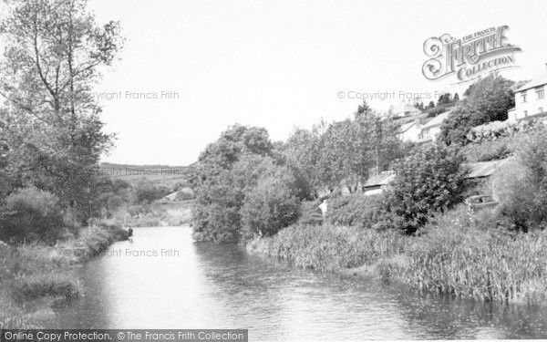 Photo of Withypool, The River c.1965