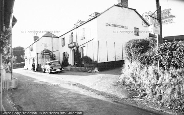 Photo of Withypool, The Royal Oak c.1955