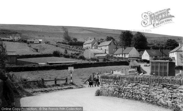 Photo of Withypool, The Village c.1965