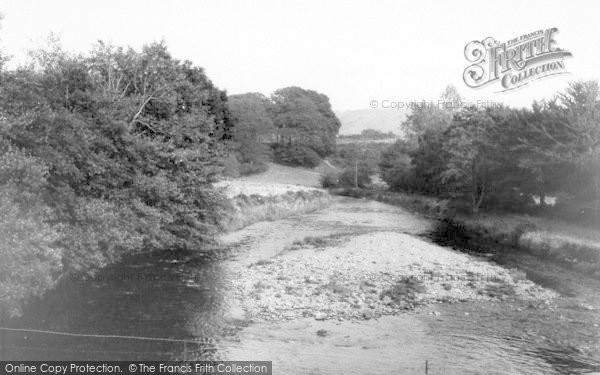 Photo of Withypool, View From The Bridge c.1965