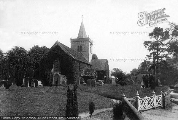 Photo of Witley, All Saints Church 1898
