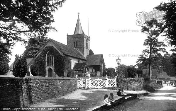 Photo of Witley, All Saints Church 1917