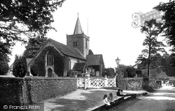 Witley, All Saints Church 1917