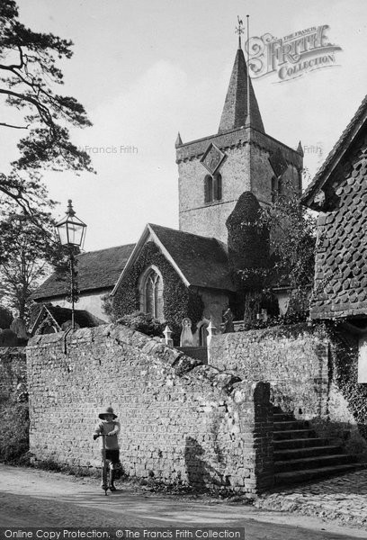 Photo of Witley, All Saints Church 1919