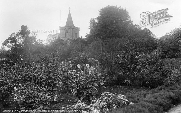 Photo of Witley, All Saints Church 1923