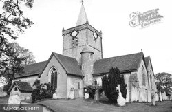 Witley, All Saints Church c.1960