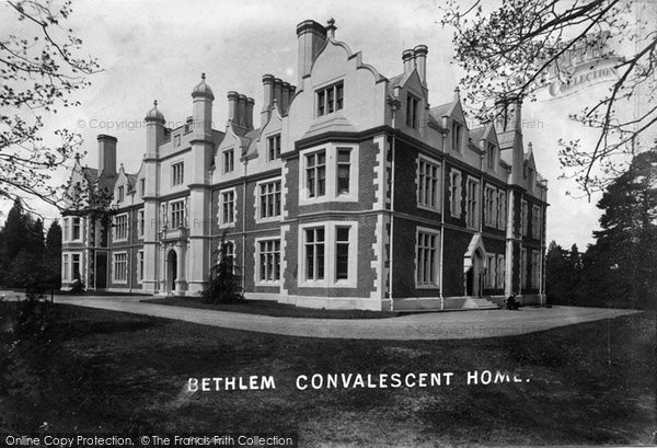 Photo of Witley, Bethlem Convalescent Home 1908