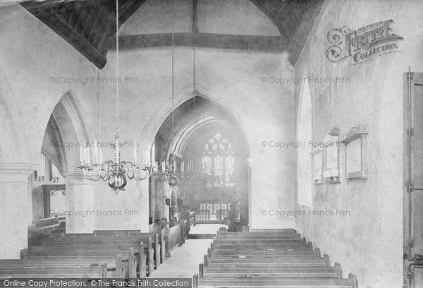 Photo of Witley, Church Interior 1906