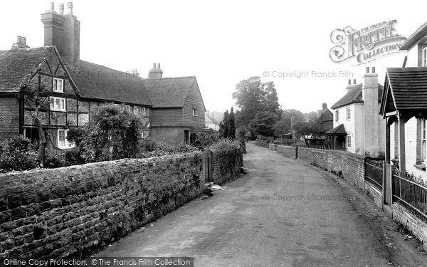 Photo of Witley, Crossways 1923