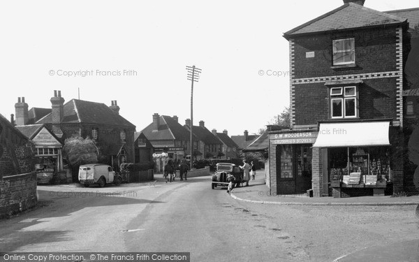 Photo of Witley, Crossways c1950