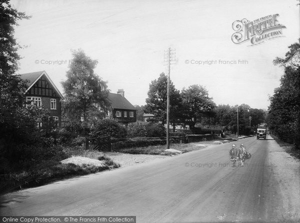 Photo of Witley, Culmer Hill 1927