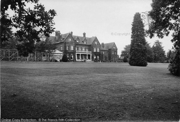 Photo of Witley, Enton Hall 1923