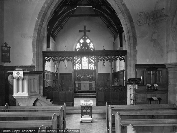 Photo of Witley, King Edward's School Chapel 1931