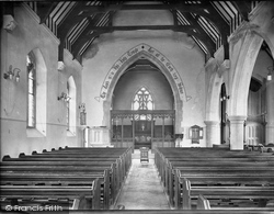 Witley, King Edward's School, The Chapel 1919