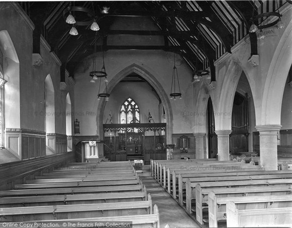 Photo of Witley, King Edwards School Chapel 1931