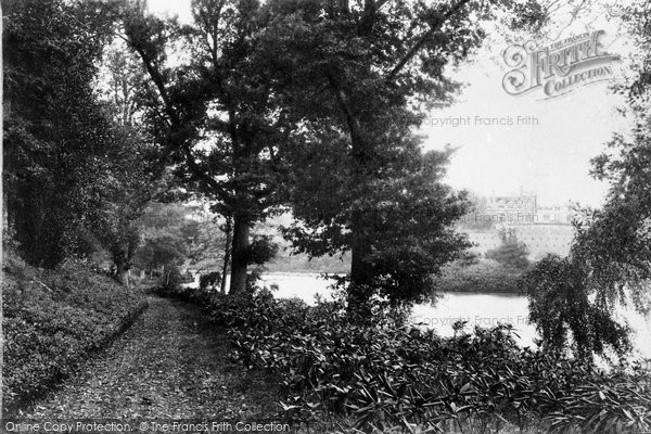 Photo of Witley, Lea Park, Pathway By Lake 1906