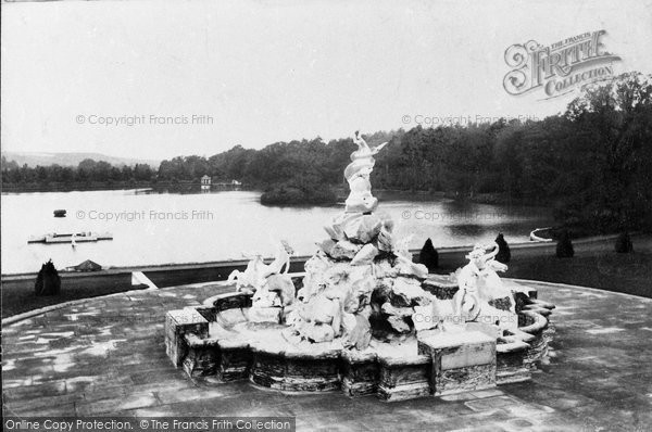 Photo of Witley, Lea Park, The Fountain 1906