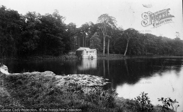 Photo of Witley, Lea Park, The Lake 1906