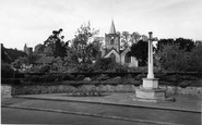 Witley, Memorial and All Saints Church c1960