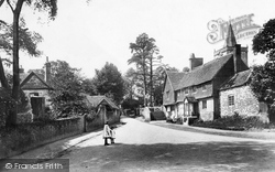 Old Cottages And All Saints Church 1906, Witley